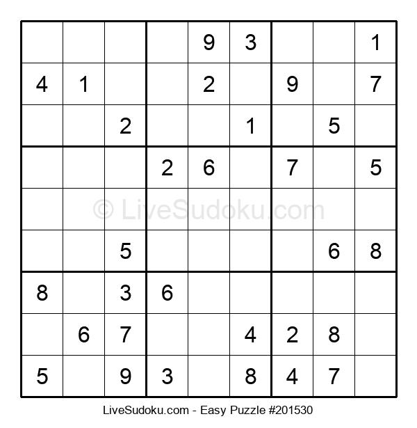 Beginners Puzzle #201530