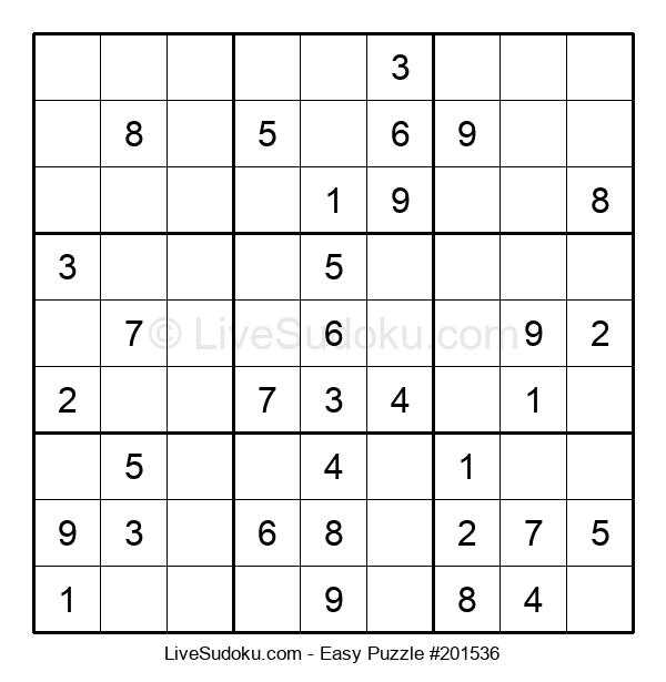 Beginners Puzzle #201536