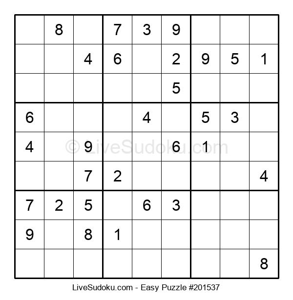 Beginners Puzzle #201537