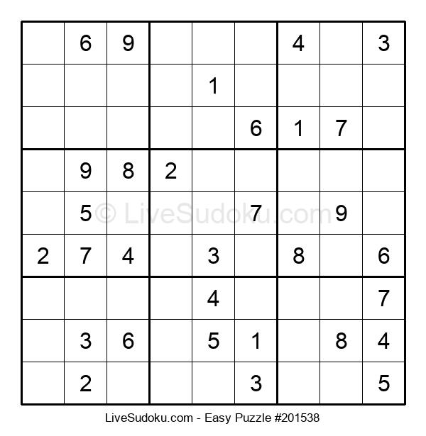 Beginners Puzzle #201538