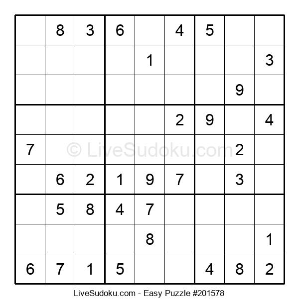 Beginners Puzzle #201578