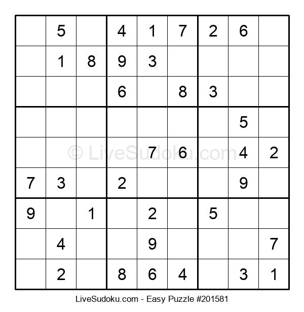 Beginners Puzzle #201581