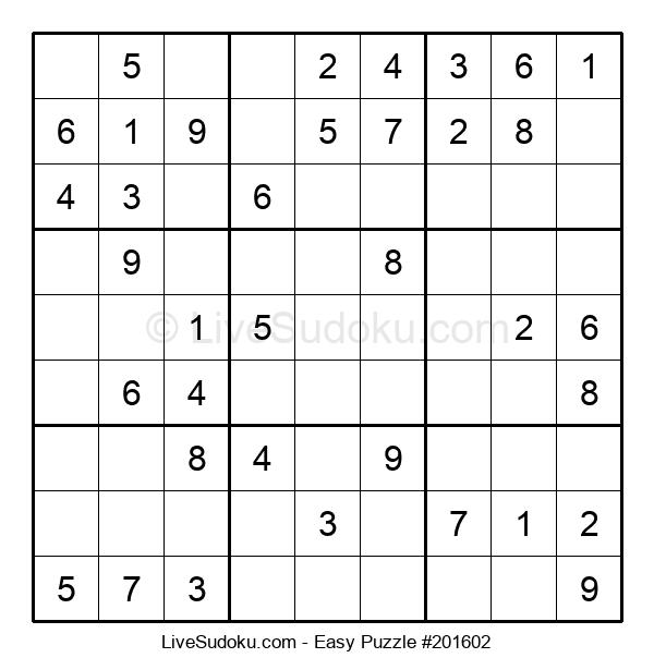 Beginners Puzzle #201602