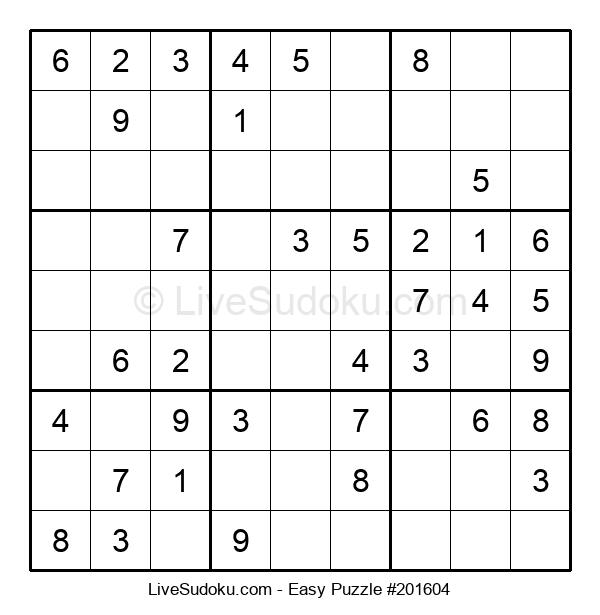 Beginners Puzzle #201604