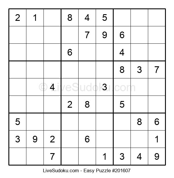 Beginners Puzzle #201607