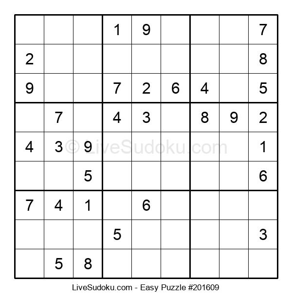 Beginners Puzzle #201609