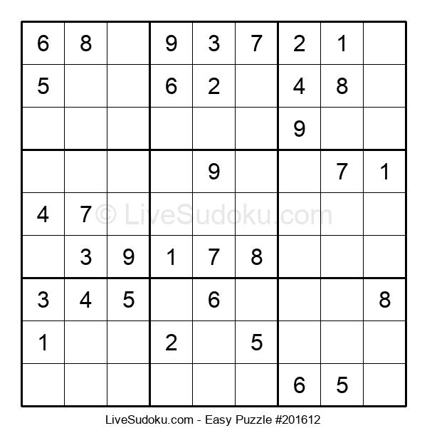 Beginners Puzzle #201612