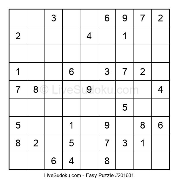 Beginners Puzzle #201631