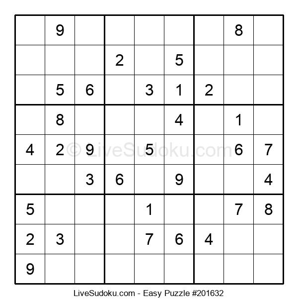 Beginners Puzzle #201632