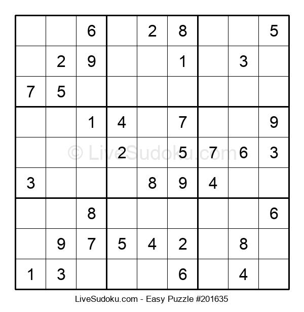 Beginners Puzzle #201635