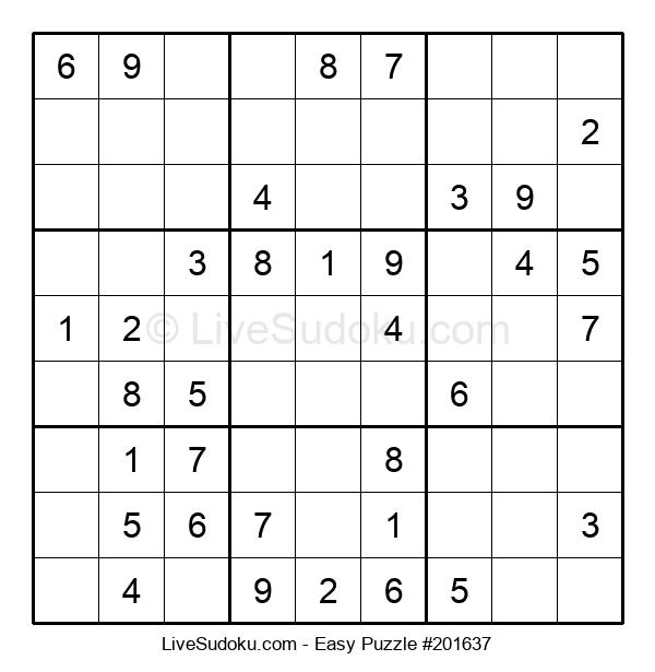 Beginners Puzzle #201637