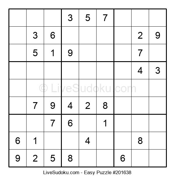 Beginners Puzzle #201638