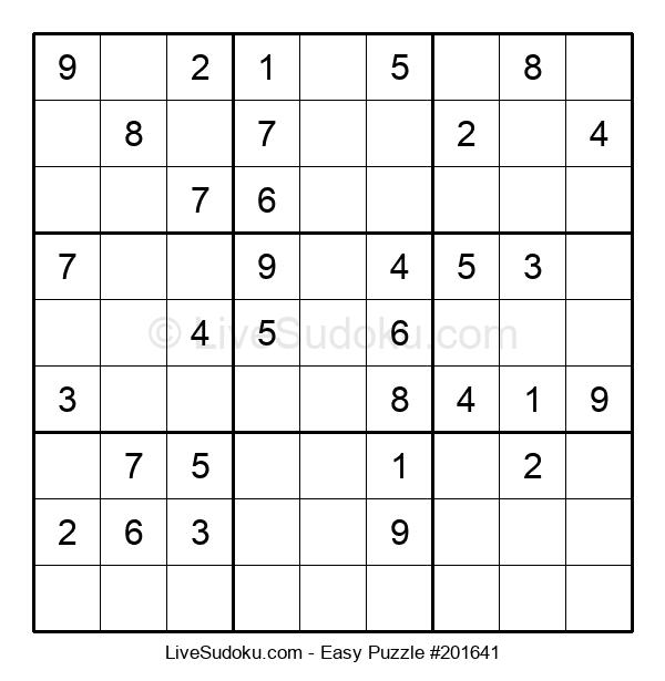 Beginners Puzzle #201641