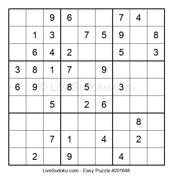 Beginners Puzzle #201648