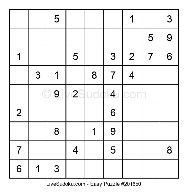 Beginners Puzzle #201650