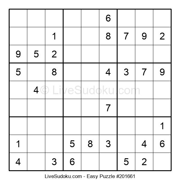 Beginners Puzzle #201661