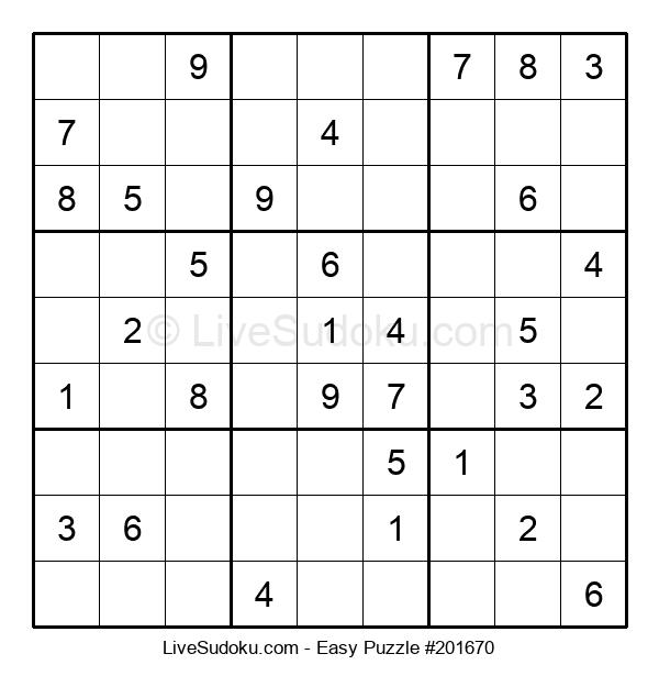 Beginners Puzzle #201670