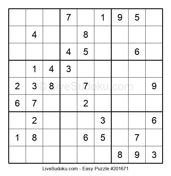 Beginners Puzzle #201671