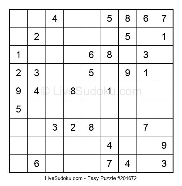 Beginners Puzzle #201672