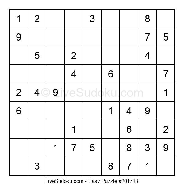 Beginners Puzzle #201713