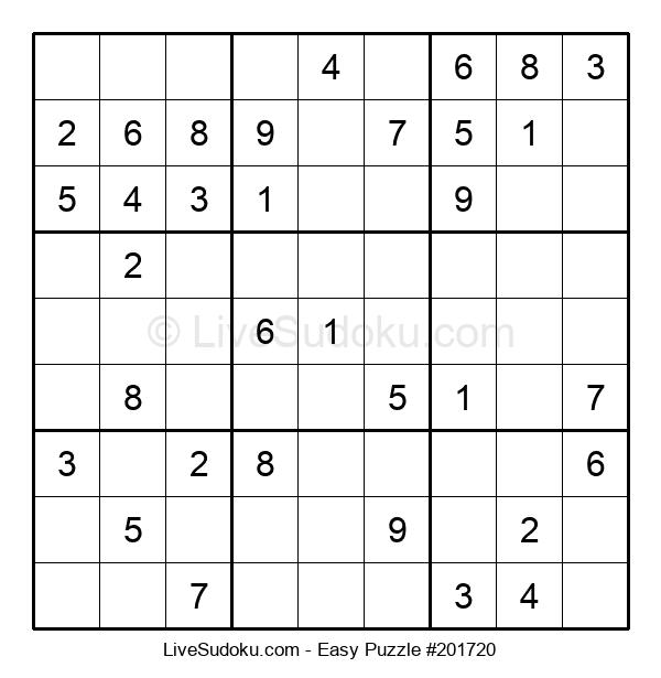 Beginners Puzzle #201720