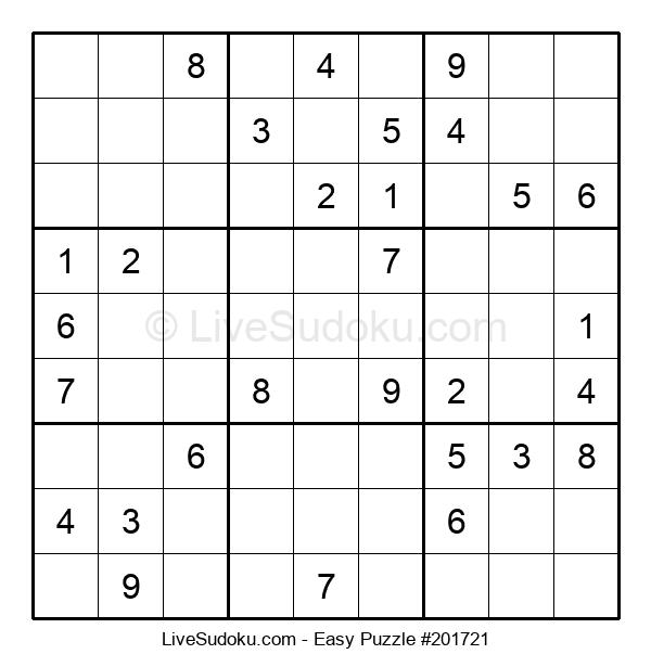 Beginners Puzzle #201721