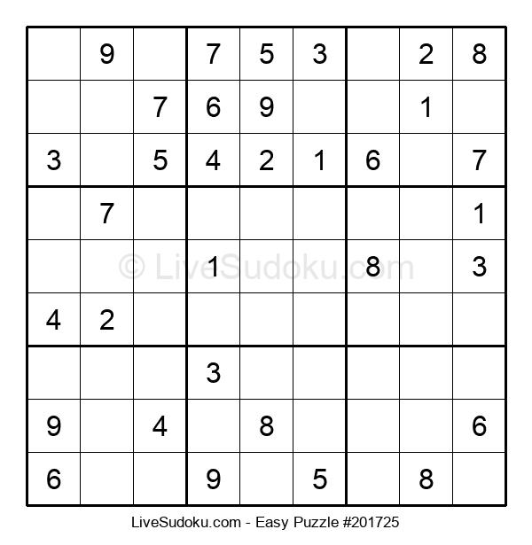 Beginners Puzzle #201725