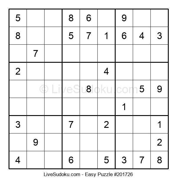 Beginners Puzzle #201726