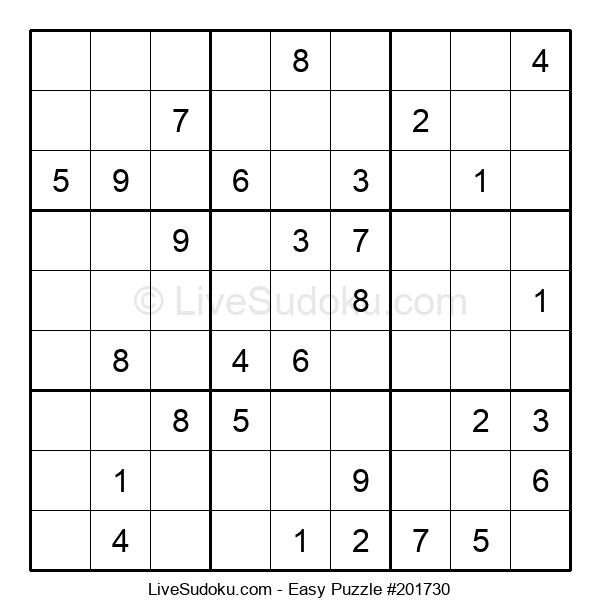 Beginners Puzzle #201730