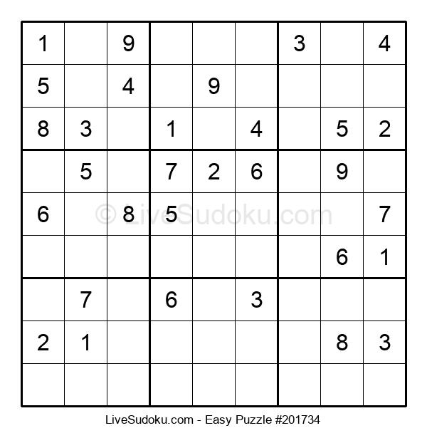 Beginners Puzzle #201734