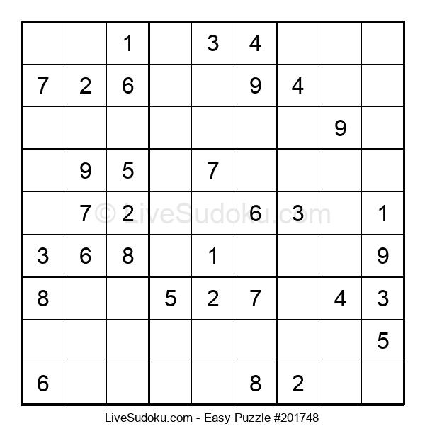 Beginners Puzzle #201748