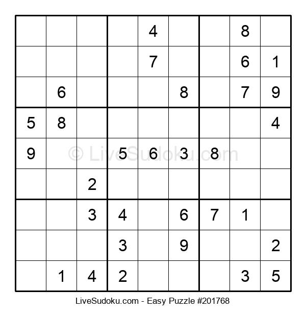 Beginners Puzzle #201768