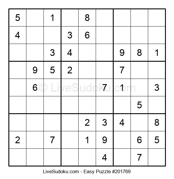 Beginners Puzzle #201769