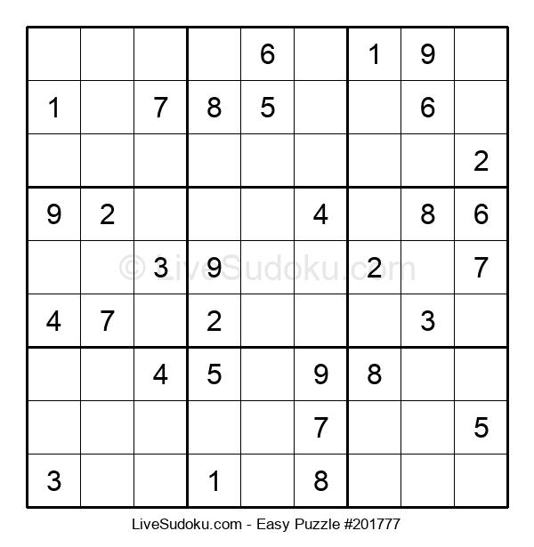 Beginners Puzzle #201777