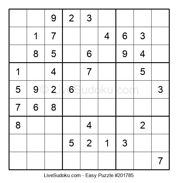 Beginners Puzzle #201785
