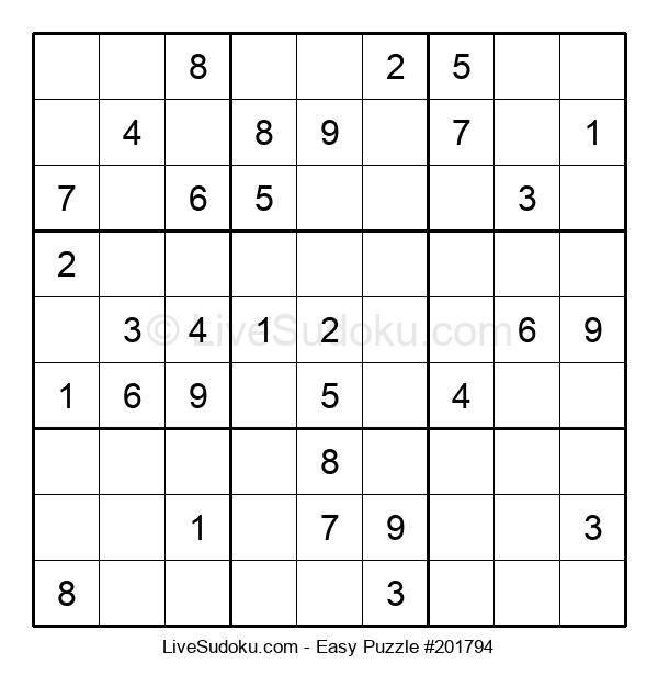 Beginners Puzzle #201794