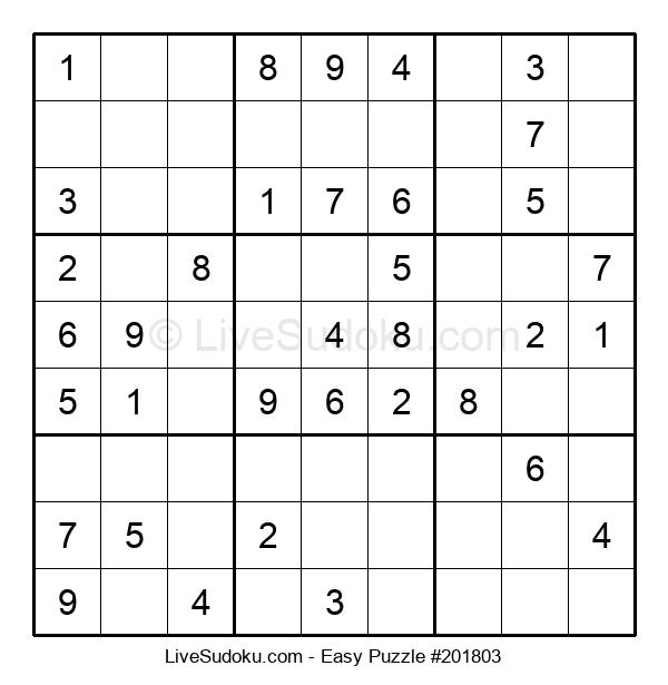 Beginners Puzzle #201803