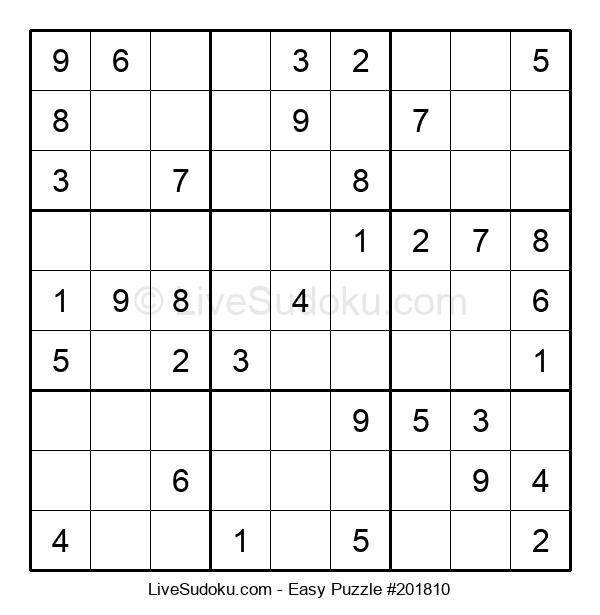 Beginners Puzzle #201810