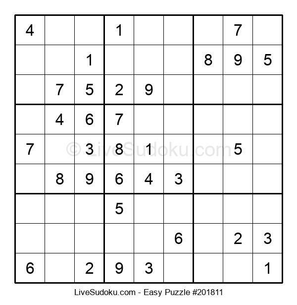 Beginners Puzzle #201811