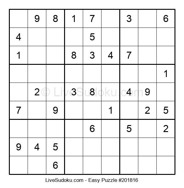 Beginners Puzzle #201816