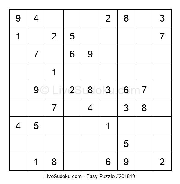 Beginners Puzzle #201819