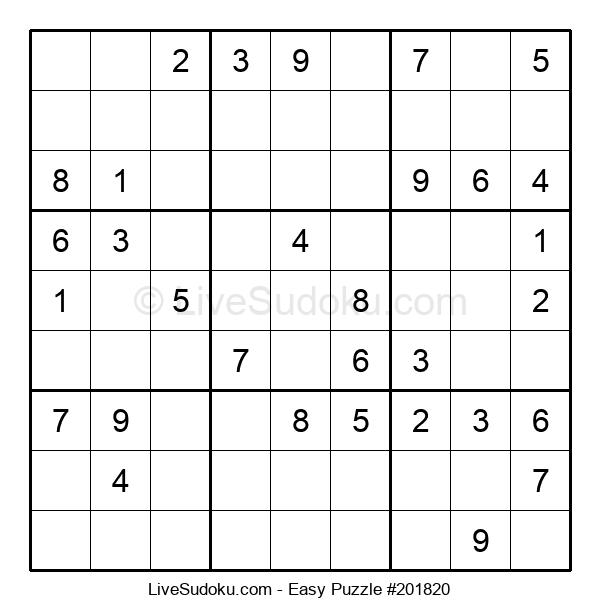 Beginners Puzzle #201820