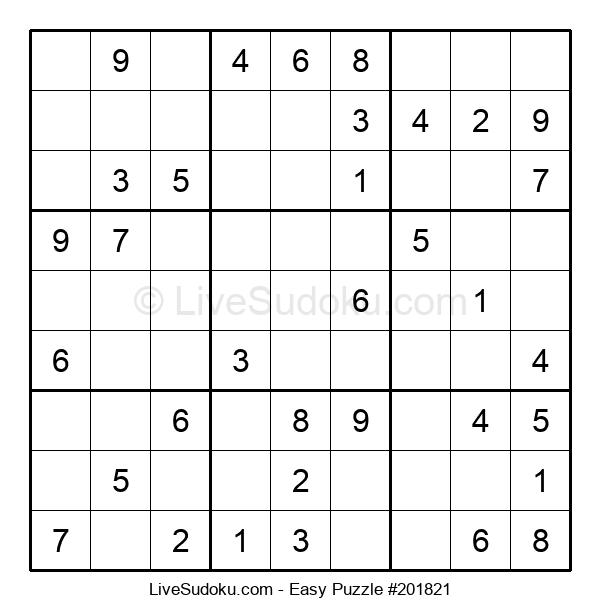 Beginners Puzzle #201821