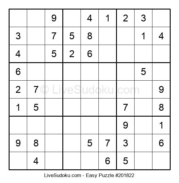 Beginners Puzzle #201822