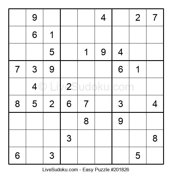Beginners Puzzle #201826