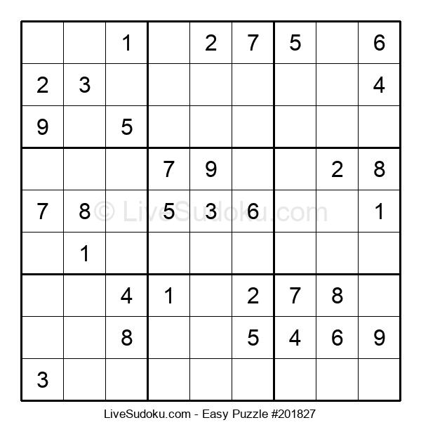 Beginners Puzzle #201827