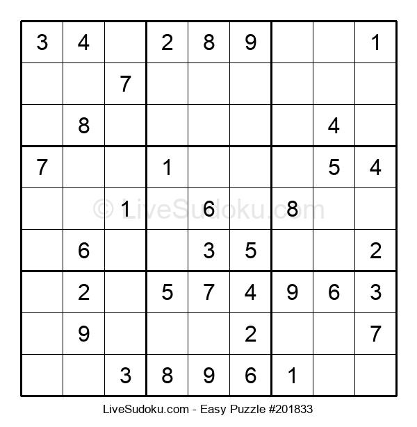 Beginners Puzzle #201833