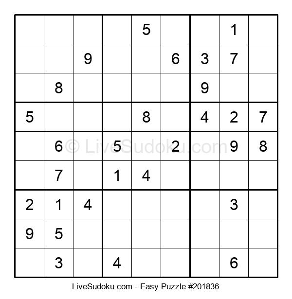 Beginners Puzzle #201836