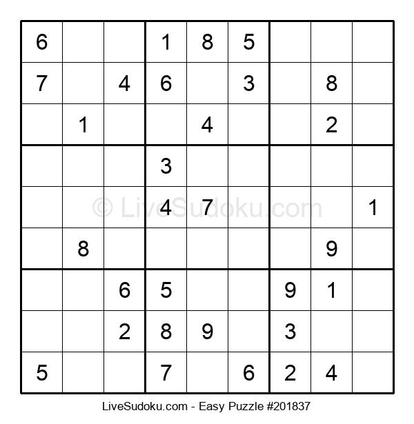 Beginners Puzzle #201837