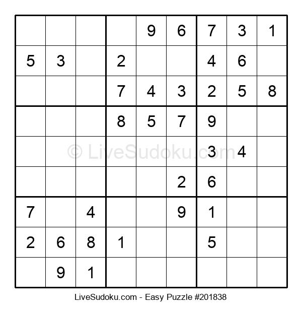 Beginners Puzzle #201838
